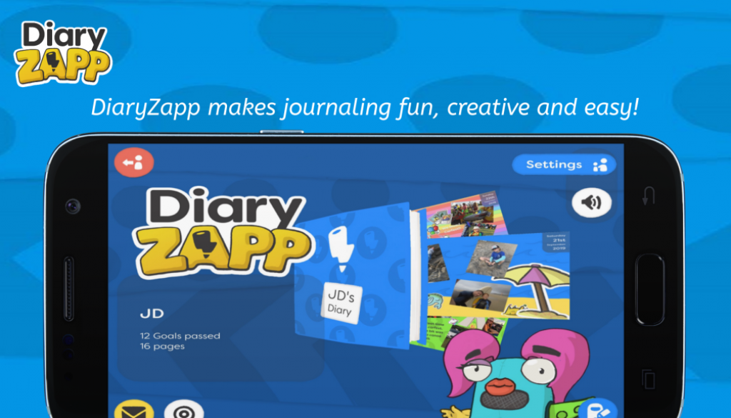 DiaryZapp-Cover-Page